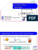 Online Music Resources for Primary Schools