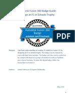 Uputstvo Autodesk fusion engleski