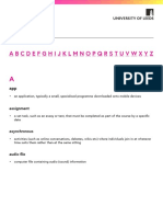 Glossary Downloads