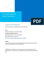 Get Started Guide - Azure IT Operators