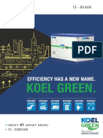 KOEL Green- World's Largest Petrol/Diesel Generator Brand