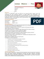 Mr. Raymond Blanco's Updated CV March 2017