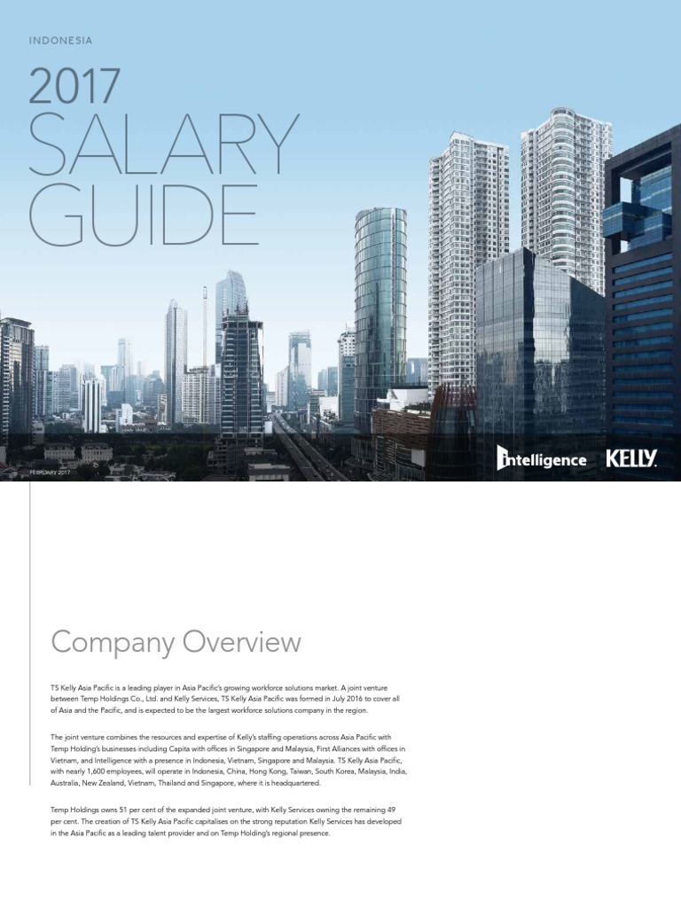 kelly services 2017 salary guide