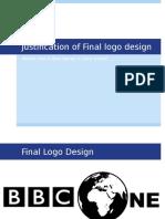 2 7 justification of final logo design