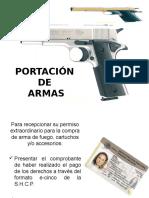 Portacion de Armas