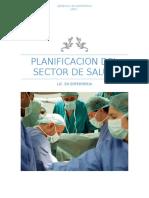 Planificacion Del Sector de Salud