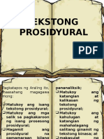 tekstong prosidyural (malasusing pagsisiyasat)