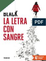 La Letra Con Sangre - Saul Black