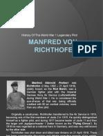 History of Manfred Von Richthofen