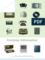 Aspray, William; Hayes, Barbara M (Eds.) - Everyday Information. the Evolution of Information Seeking in America