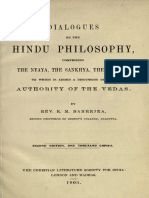 Dialogues on the Hindu Philosophy