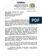 Mona Macatanong Open Letter to the Supreme Court