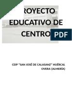 Proyecto Educativo 2016-17