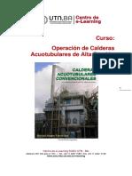 Módulo 3 Unidad N° 11 Curso Operación de calderas acuotubulares de alta presión