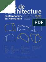Programme Du Mois de l'Architecture 2017