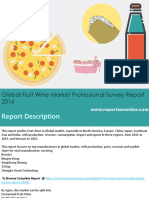 Global Fruit Wine Market Professional Survey Report  Forecast 2011-2021
