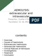 HAEMOLYSIS n2