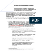 Artes Plásticas, Gráficas y Editoriales