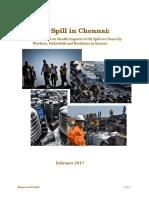 Oil Spill Health Fact Finding Report Feb 2017