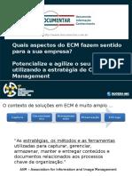 ECM ApresentaoCaseManagement