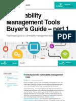Vulnerability Management Tools Buyersguide Part1