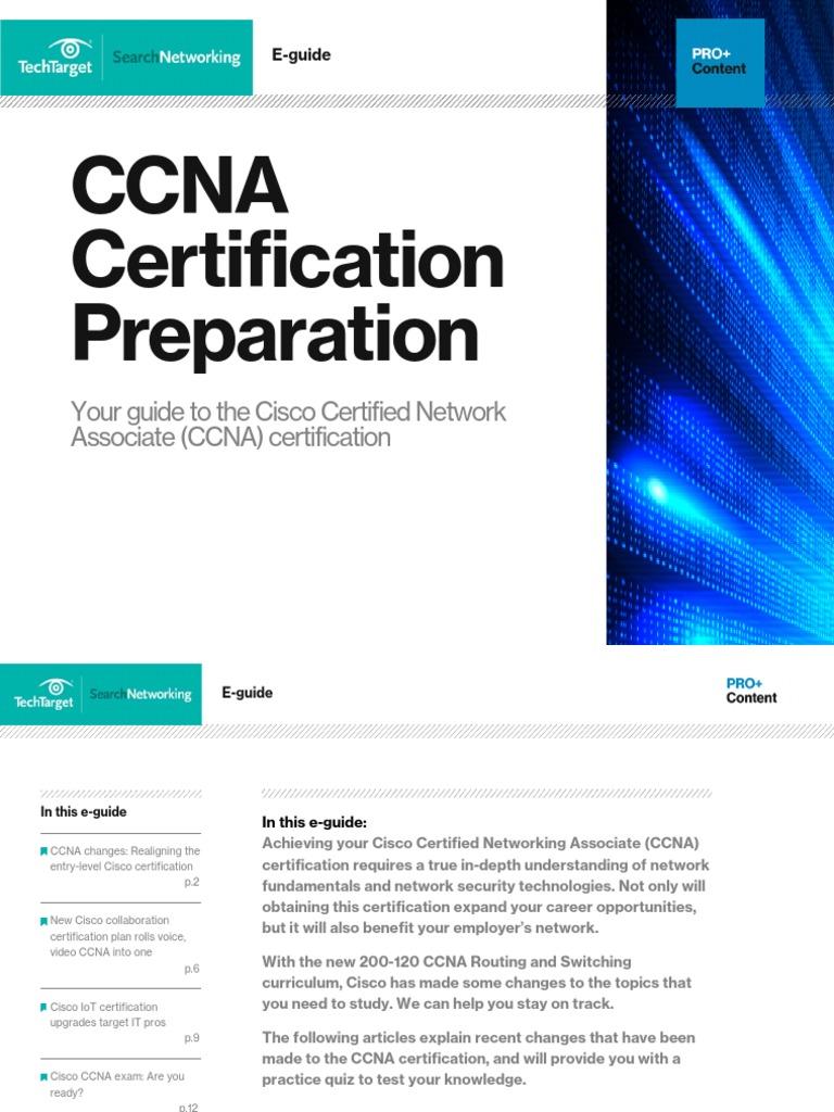 Ccna Certification Preparationpdf Cisco Certifications Cisco