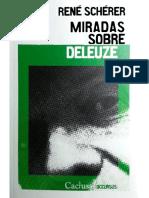 Scherer Rene - Miradas Sobre Deleuze.pdf