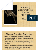 Chapter 9 Sustaining Biodiversity 2010