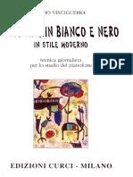 vinciguerra Remo Sonatine in Bianco e Nero in Stile Moderno