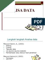 Materi d4kepma 4 STATISTIK KESEHATAN Analisis Data 2