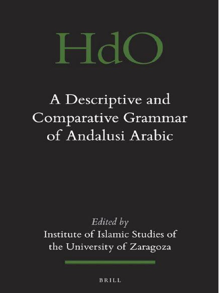 229701106 A Descriptive And Comparative Grammar Of Andalusi Arabic Transmission Diagram Parts List For Model La112 Maytagparts Washer Semiotics