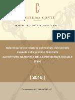 20170215 - Relazione Sul Risultato Del Controllo (Corte Dei Conti)
