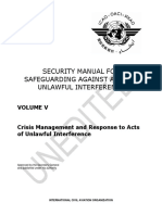 ICAO Security Manual Volume V