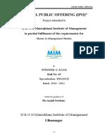 Blackbook project on ipo 1_163420152.doc