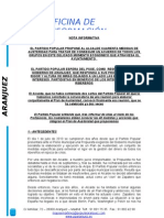 Medidas de Ahorro PP Aranjuez