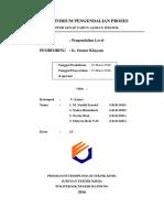 Pengendalian Level Kel 5 2A Teknik Kimia