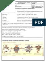 ACUMULATIVOs Lengua Castellana Primer Periodo