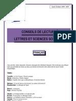 Conseils de Lecture - Bl