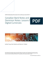 Bank of Canada Bitcoin - Blockchain Swp2017-5