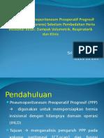 Persiapan Pneumoperitoneum Preoperatif Progresif (Protokol Goni Moreno) Sebelum Pembedahan Heria Insisional Besar - Dampak Volumetrik, Respiratorik Dan Klinis