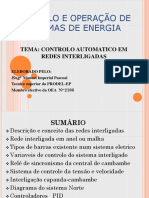Controlo e Operação de Sistemas de Energia
