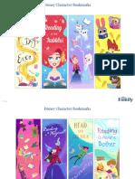 Disney Family Printable Disney Bookmarks