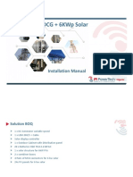12KW DCG+6KW Solar (Installation Manual)