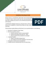 Coimbatore Home Buyers Guide