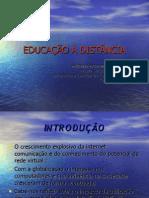 EDUCAÇÃO À DISTÂNCIA
