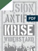 Antifa-Heft zum Festival FUSION