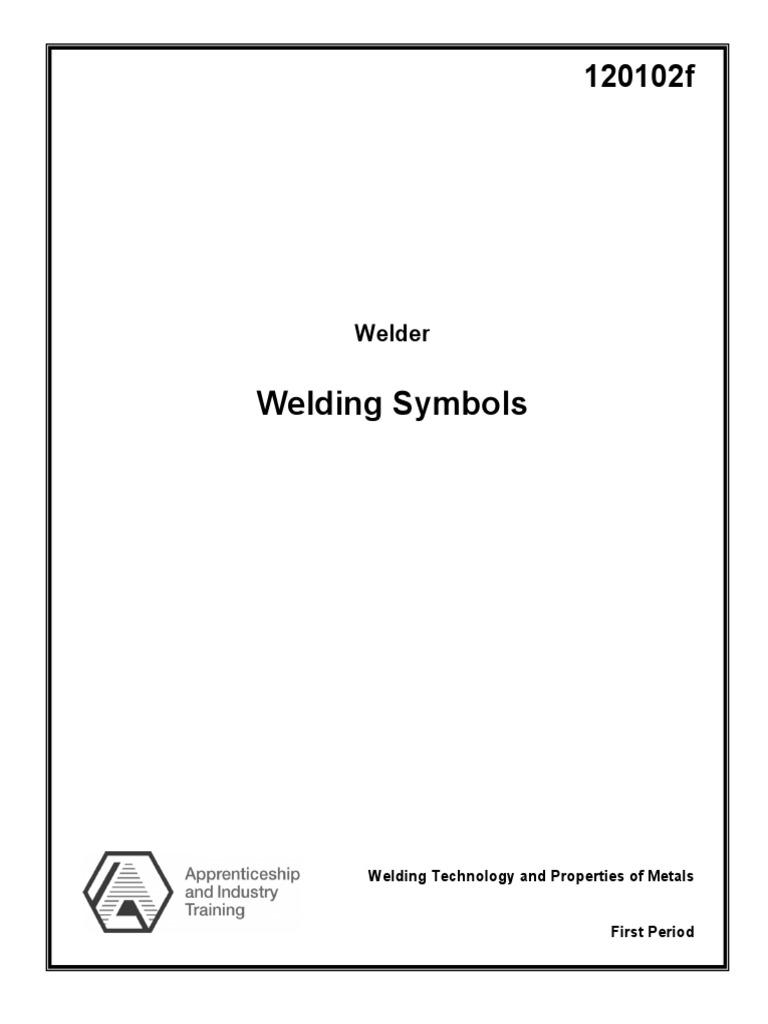 Welding symbols nondestructive testing welding buycottarizona