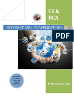 Internet and Its Applications-UNIT I-II-III (thiruvallur university)