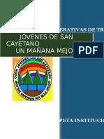 Carpeta Institucional Cooperativa San Cayetano Word 2007