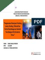 Presentasi Penulisan Kerja Praktek_1